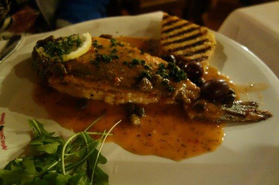 Ristorante Antica Sacrestia: Sea bass is not so good