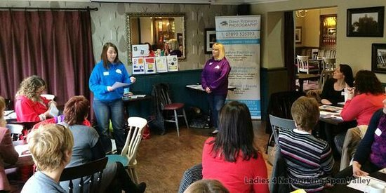 The Liversedge: ladies 4 Networking 11.2.14