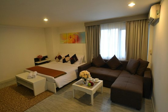Pratunam City Inn: Deluxe Family Room
