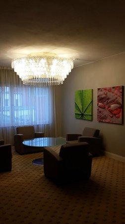 Elite Palace Hotel Stockholm: холл на этаже