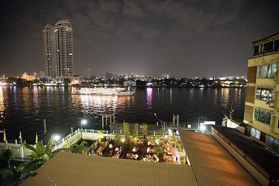 Navalai River Resort : Blick vom Balkon im 4. Stock