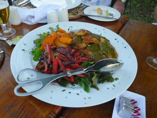 andBeyond Kichwa Tembo Tented Camp: Yummy food!