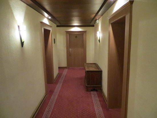 Alpenhof Hotel: Коридор