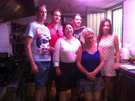 La Taberna Iberica: Curso de Paella!!!