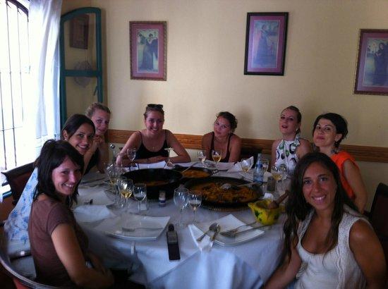 La Taberna Iberica: Curso de Paella!!