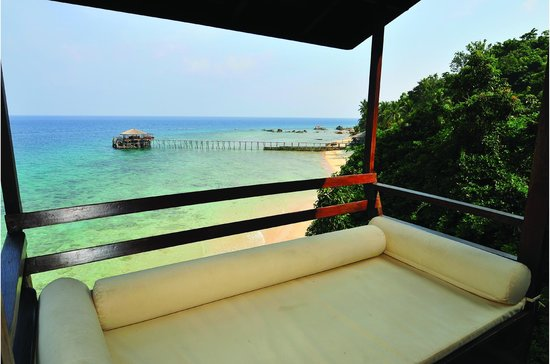Japamala Resort - By Samadhi: View from Sea Cliff Chalet