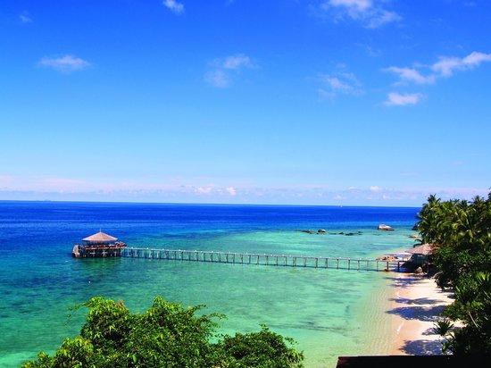 Japamala Resort by Samadhi: Beach and Jetty