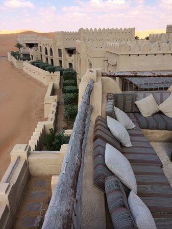 Qasr Al Sarab Desert Resort by Anantara: View from our terrace