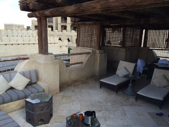 Qasr Al Sarab Desert Resort by Anantara: Terrace room (terrrace)