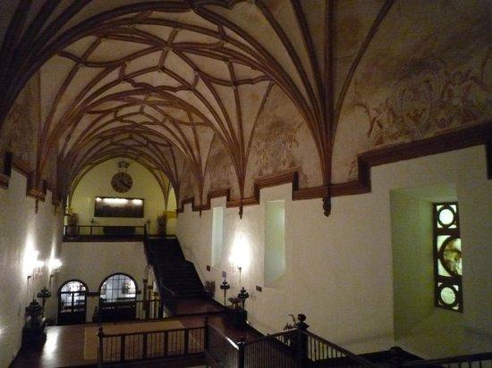 Hotel Monasterio de Piedra & Spa: detalle acceso comedor