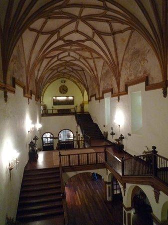 Hotel Monasterio de Piedra & Spa : escalera