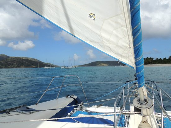 Kuralu Private Catamaran Charters : Our lovely view