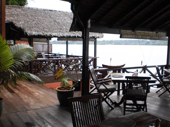 Sunset Bungalows Resort: The restaurant