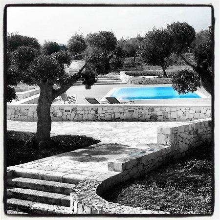 B&B Fiano Marchione: piscina