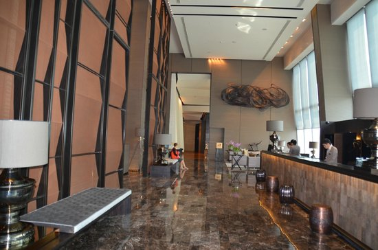 The Okura Prestige Bangkok : reception