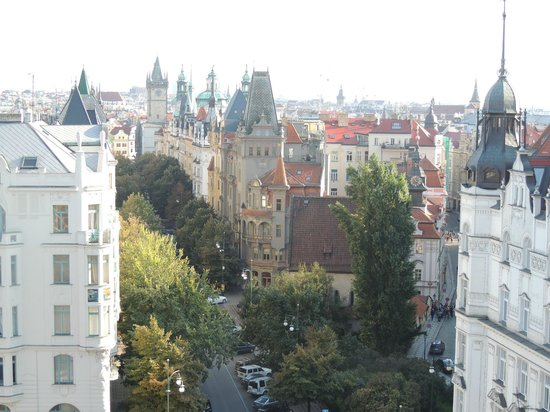 InterContinental Prague: The view from the roof top