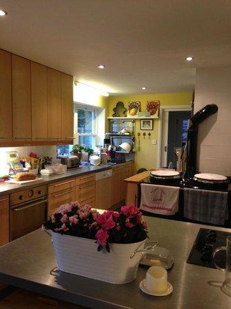 Chez Ray: open plan kitchen