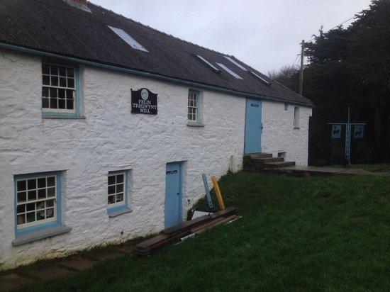 Melin Tregwynt Woolen Mill: Water Wheel House
