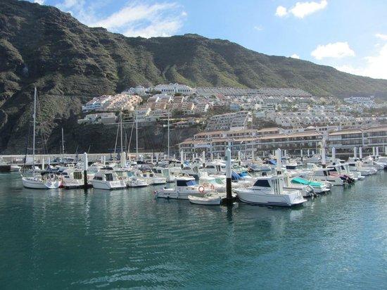 Royal Sun Resort: Ausblick vom Hafen