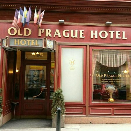 Old Prague Hotel : Фасад