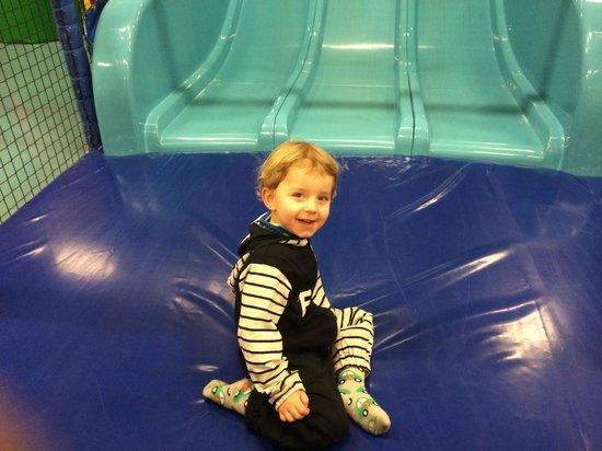 Skallerup Seaside Resort: Et stk. meget glad dreng på 3 år