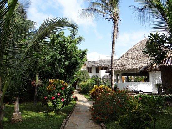Zawadi Residence : giardino