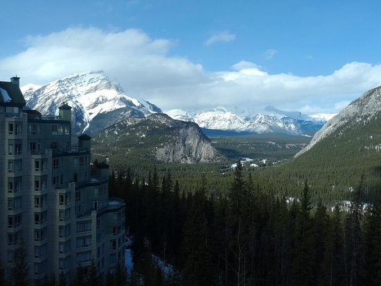 Rimrock Resort Hotel: View from the room in the Rimrock