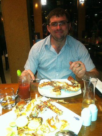 Cinnamon Grand Colombo: ужин