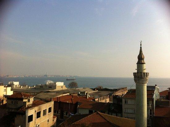 Antis Hotel: Uitzicht vanaf het terras