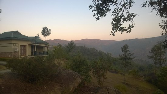 Ananthagiri Hill Resort : View from the Cottages