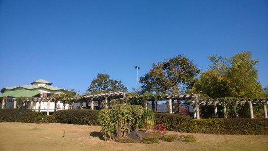 Ananthagiri Hill Resort : Resturant & lawn