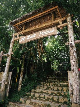 Bali Pulina Agro Tourism: Entrance.