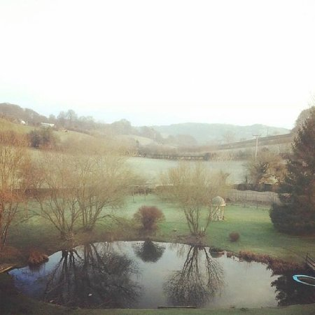 Damson Dene Hotel: View from our room