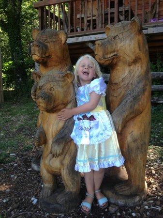 Pagel : With the Goldilocks bears!
