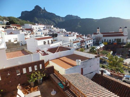 Hotel Rural Fonda de la Tea: Ausblick vom Hotelzimmer