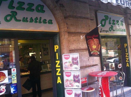 Pizza Europa Rustica: pizzeria