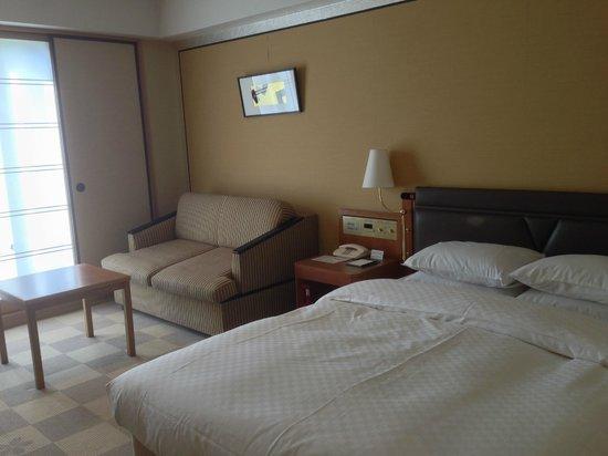 RIHGA Royal Hotel Kyoto : 9階のダブルルーム