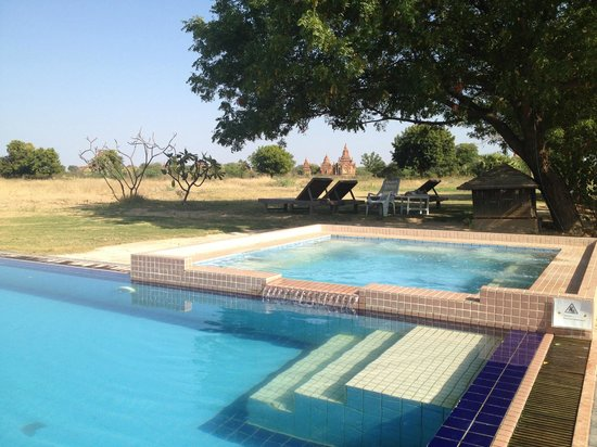 Kumudara Hotel Bagan: Amazing view
