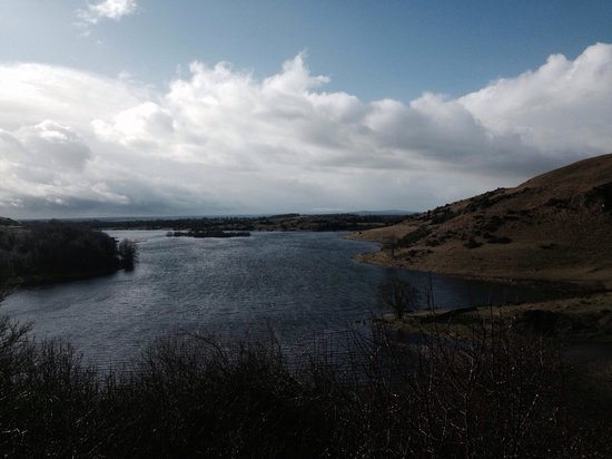 Lough Gur Visitor Centre: Just after the snow had passed.