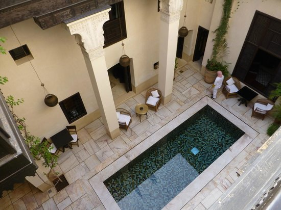 Riad Dixneuf La Ksour : From the third floor