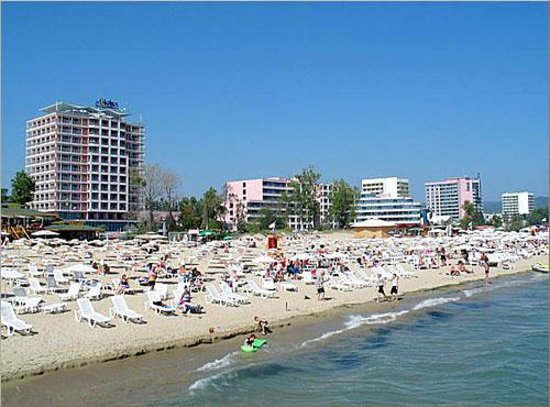 Park-Hotel Continental: Spiaggia a Sunny Beach