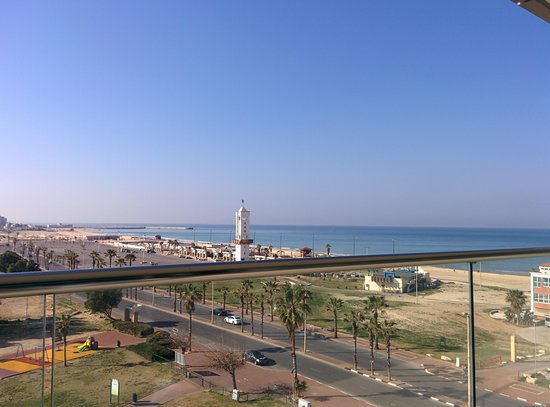 West Boutique Hotel Ashdod: Sea View from room