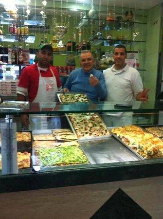 Pizza Europa Rustica: con palmerino amicone campione d'Europa e d'Italia d'ella pizza — con Palmerino amicon