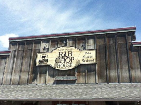Montana's Rib and Chop House : Outdoor view