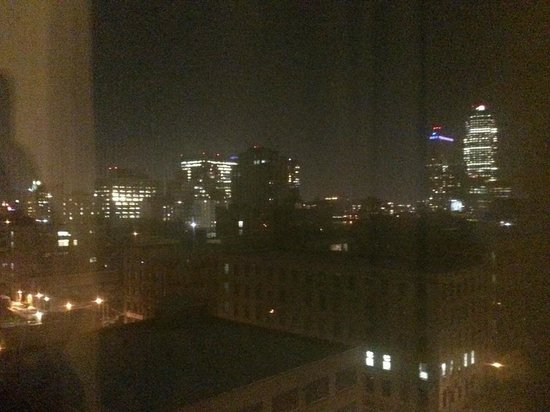 Best Western Plaza Hotel: View from the window