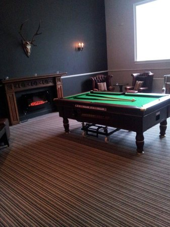 Mercure Peebles Barony Castle Hotel: Games room