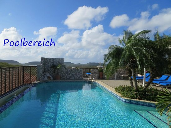 The Natural Curacao: Poolbereich