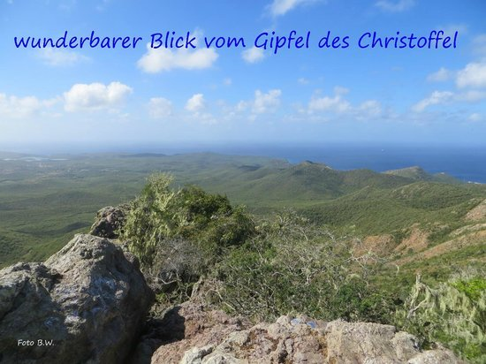 The Natural Curacao: Blick vom Christoffel Berg