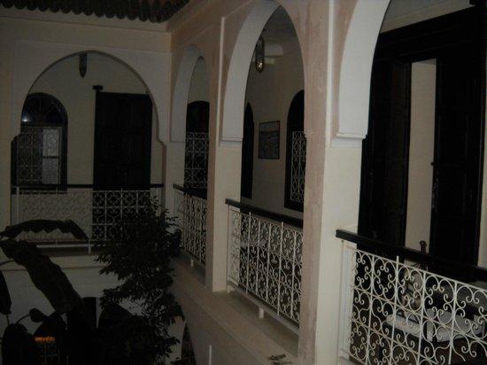 Riad Alboraq: balcon