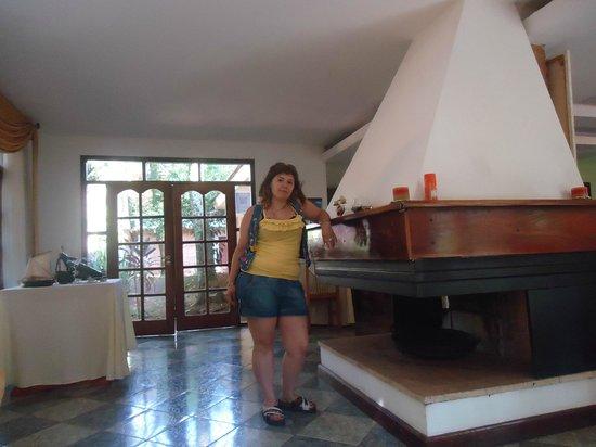 Cabanas Del Lenador Hotel: sala de  estar  del restaurant